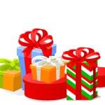Christmas gifts — Stock Vector #1196085