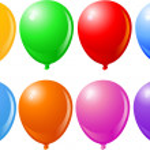 Balloons Singles — Stock Vector #1196350