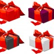 Royalty-Free Stock Vektorfiler: Red bow