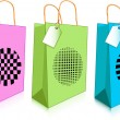 Shopping bags — Stock Vector #1196746