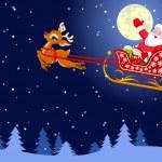 Santa — Vetorial Stock