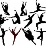 Ballet silhouette — Stock Vector