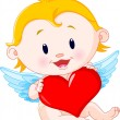 Cupid Angel — Vector de stock #1277819