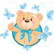 Teddy Bear — Vector de stock #1289757