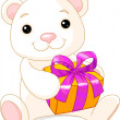 Vector de stock : Adorable Teddy Bear