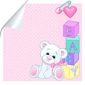 Baby pink — Stock Vector