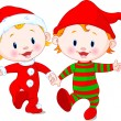 Royalty-Free Stock Vector: Christmas Babies