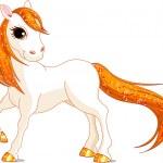 Beautiful horse — Stock Vector