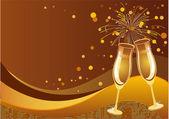 Фон празднования — Cтоковый вектор