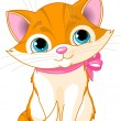 Very Cute cat - Stock Vector