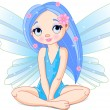 Little fairy — Stock Vector #1667376
