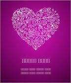 Valentijn groeten — Stockvector