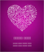 Valentine greetings — Vector de stock