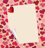 Valentine Background — Vettoriale Stock