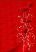 Red valentine — Stock Vector