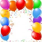 Balloons border — Stock Vector #2254587