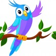 Royalty-Free Stock Vector Image: Cute Cartoon Parrot