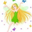 Spring fairy — Stock Vector #2473243