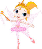 Cute fairy — Stock Vector