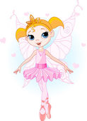 Cute fairy ballerina — Stock Vector