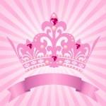 Couronne de princesse — Vecteur