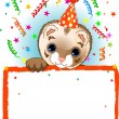 Stock Vector: Polecat Birthday