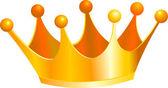 Kings crown — Stock Vector
