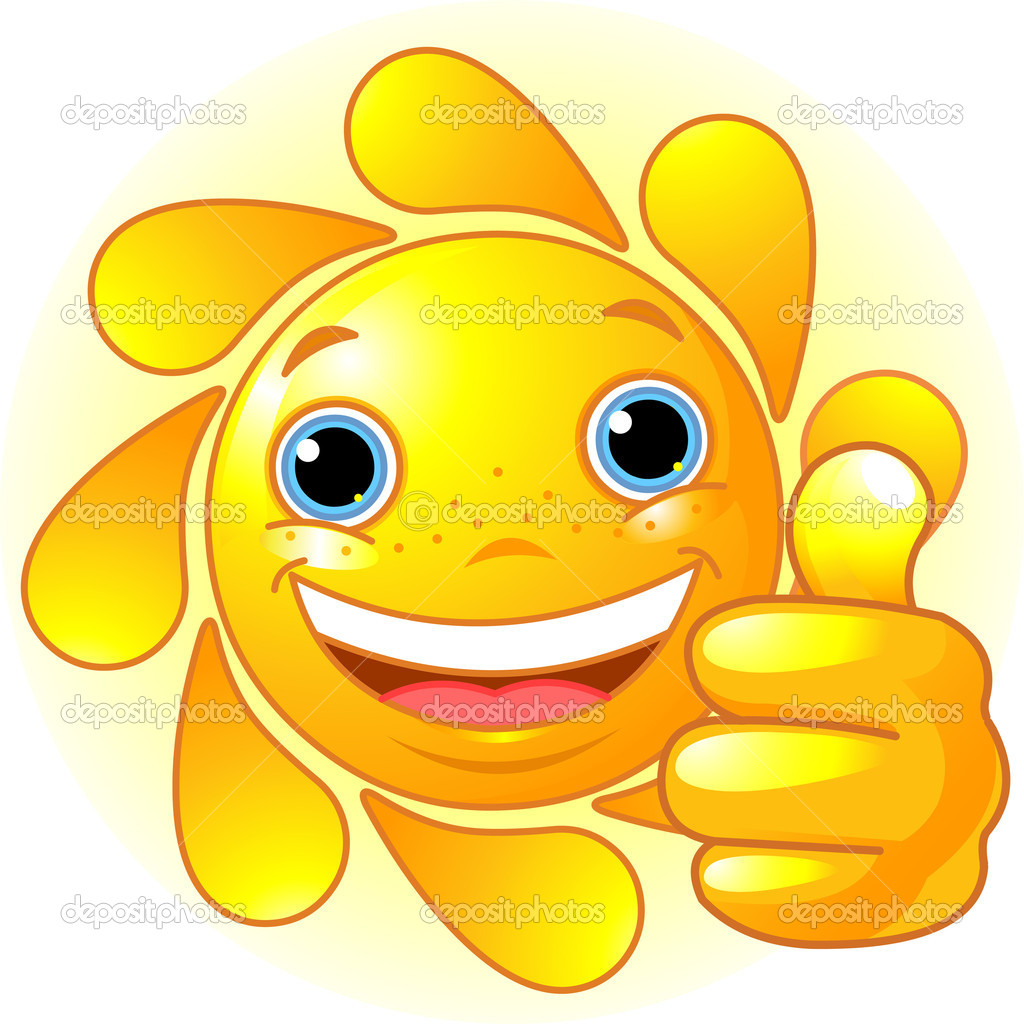 Sun Hand giving thumbs up — Stock Vector © Dazdraperma ...