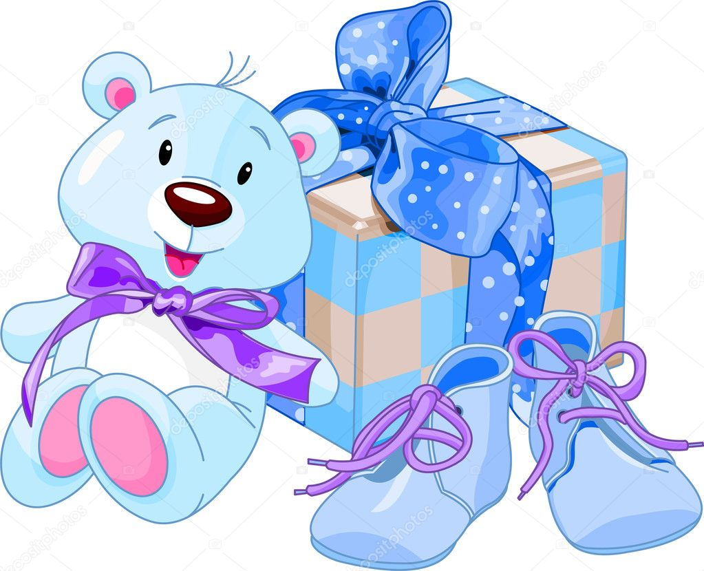 Baby Gift Vector : Baby boy gifts stock vector ? dazdraperma