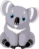 Cute Koala — Stock Vector