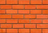 Brickwork from red brick — Stock Photo