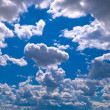 The Sky in volatile weather. - Stock Photo