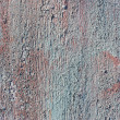 Stock Photo: old painted wood texture for background