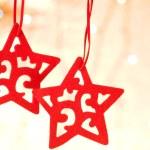 Christmas decorative star — Stock Photo #1376614