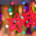 Christmas decorative star — Stock Photo #1407109