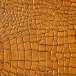 Brown snakeskin or crocodile texture - Stock Photo