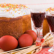 Stock Photo: Easter traditional food