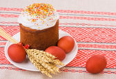Easter tradition food — Stock Photo