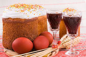 Easter traditional food — Stock Photo