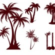 Palms - Stockvectorbeeld