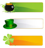 St. Patrick`s background — Stock Vector