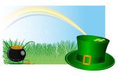 St. Patrick`s background — Stockvektor