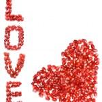 amour et coeur — Photo