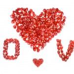 Love and hearts — Stock Photo