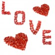 Stock Photo: Love and hearts