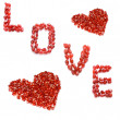 Love and hearts - Stock Photo