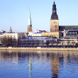 Panorama of Riga city — Stock Photo #1171325