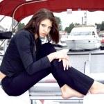 Beautiful caucasian model — Stock Photo