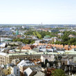 Riga from above — Stock Photo