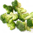 Frozen broccoli — Stock Photo
